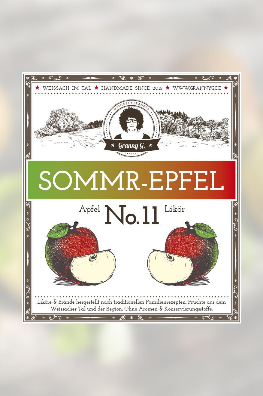 Sommr Epfel No.11